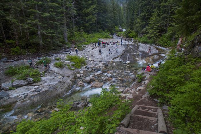 Denny Creek Waterslides
